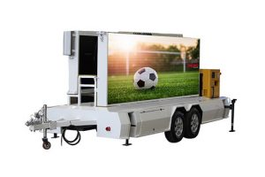 MOBO MB-10 mobile LED screen trailer for sale