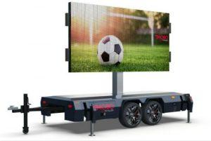 MOBO mobile MB-16 LED billboard trailer for sale