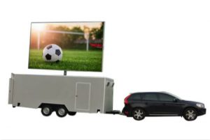 MOBO MB-22 enclosed LED sign trailer for sale