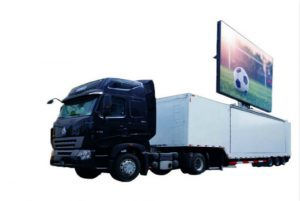 MOBO MB-32 mobile LED wall trailer for sale