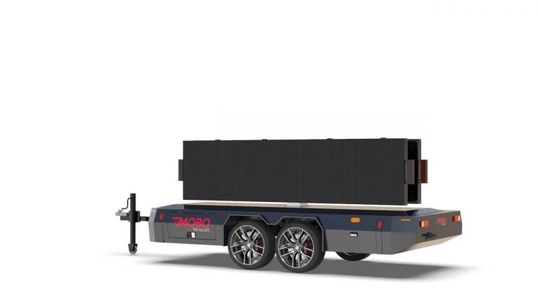 MOBO good appearance trailer chassis