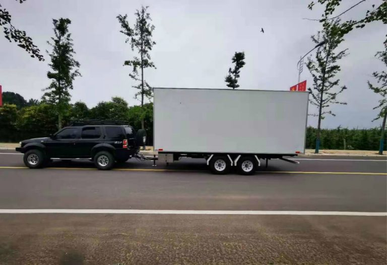 Enclosed MB-50 stage trailer model
