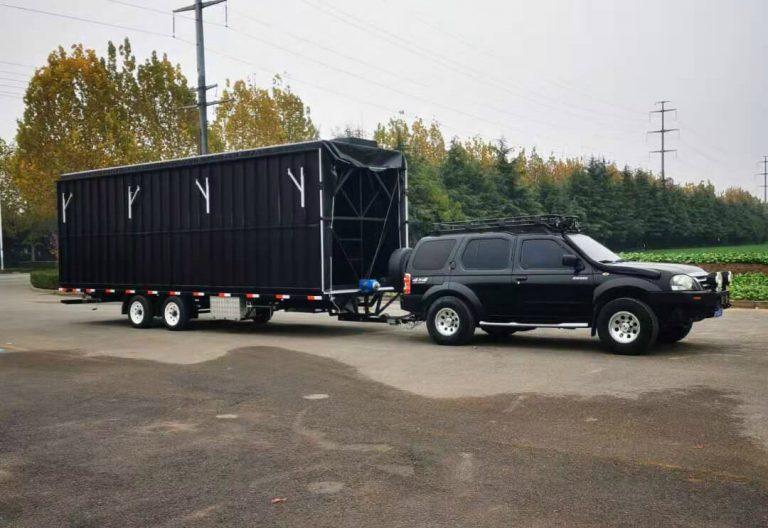 Standard MB-50 stage trailer