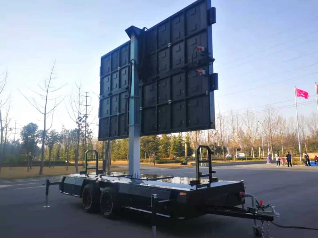 MOBO steel cabinet LED screen